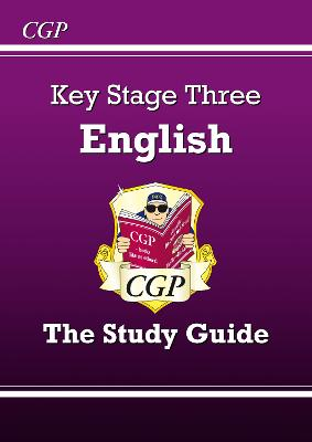 KS3 English Study Guide by CGP Books