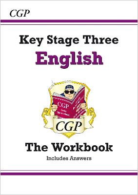 KS3 English Workbook (with Answers) by CGP Books