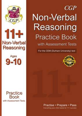 11+ Non-verbal Reasoning Practice Book with Assessment Tests (Age 9-10) for the CEM Test by CGP Books