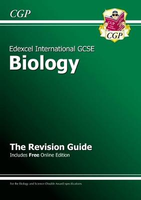 Edexcel International GCSE Biology Revision Guide with Online Edition (A*-G Course) by CGP Books