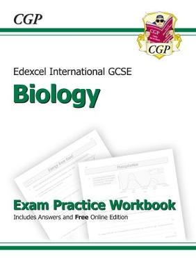 Edexcel International GCSE Biology Exam Practice Workbook with Answers (A*-G Course) by CGP Books