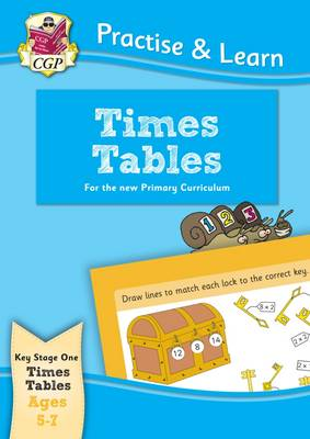 Practise & Learn: Times Tables (Ages 5-7) by CGP Books