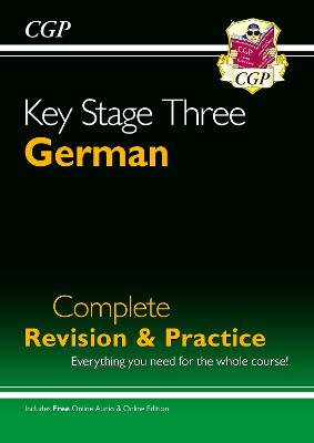KS3 German Complete Revision & Practice by CGP Books