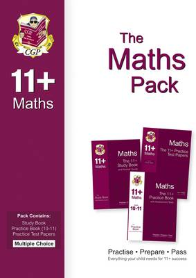 The 11+ Maths Bundle Pack - Multiple Choice (for GL & Other Test Providers) by CGP Books