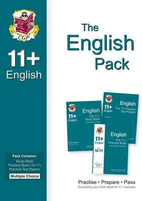 11+ English Bundle Pack - Multiple Choice (for GL & Other Test Providers) by CGP Books