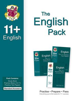 11+ English Bundle Pack - Standard Answers (for GL & Other Test Providers) by CGP Books