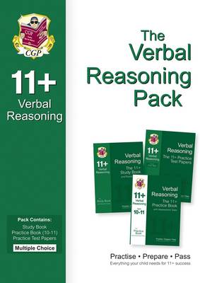11+ Verbal Reasoning Bundle Pack - Multiple Choice (for GL & Other Test Providers) by CGP Books