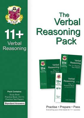 11+ Verbal Reasoning Bundle Pack - Standard Answers (for GL & Other Test Providers) by CGP Books