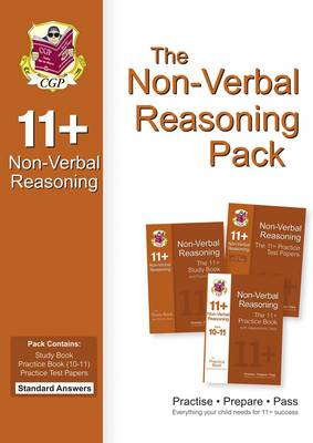 The 11+ Non-Verbal Reasoning Bundle Pack - Standard Answers (for GL & Other Test Providers) by CGP Books