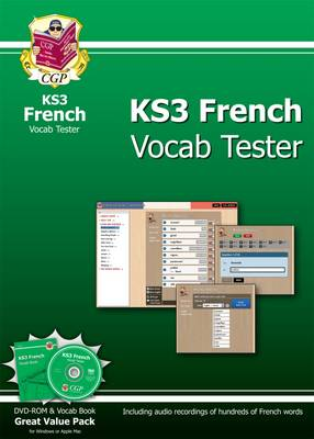 KS3 French Interactive Vocab Tester by CGP Books