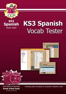 KS3 Spanish Interactive Vocab Tester by CGP Books