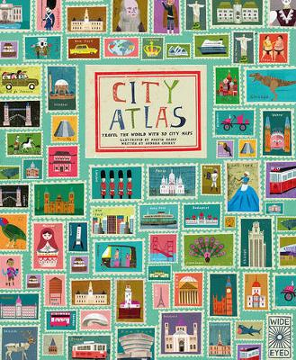 City Atlas Discover the personality of the world's best-loved cities in this illustrated book of maps by Martin Haake