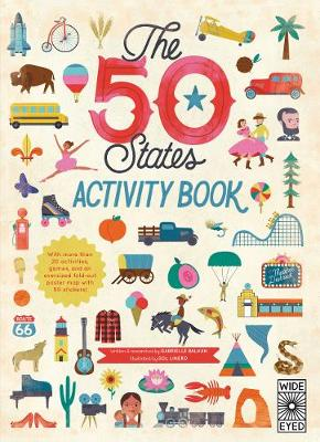 The 50 States: Activity Book Maps of the 50 States of the USA by Gabrielle Balkan