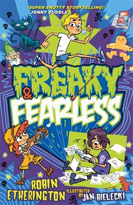 Freaky and Fearless: How to Tell a Tall Tale by Robin Etherington