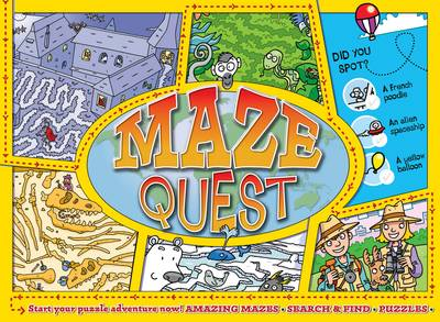 Maze Quest Start Your Puzzle Adventure Now! by Andy Peters