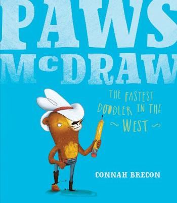 Paws McDraw Fastest Doodler in the West by Connah Brecon
