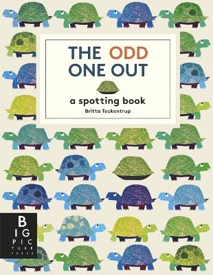 The Odd One Out by Britta Teckentrup