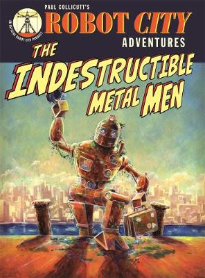 Robot City Indestructible Metal M by Paul Collicutt