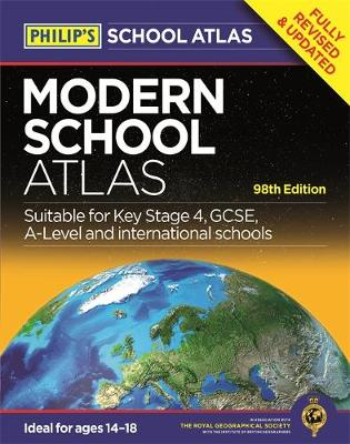 Philip's Modern School Atlas 98th Edition by