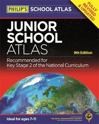 Philip's Junior School Atlas 9th Edition by