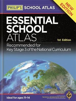 Philip's Essential School Atlas by