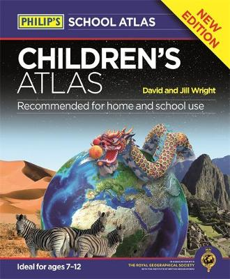 Philip's Children's Atlas by David Wright, Jill Wright
