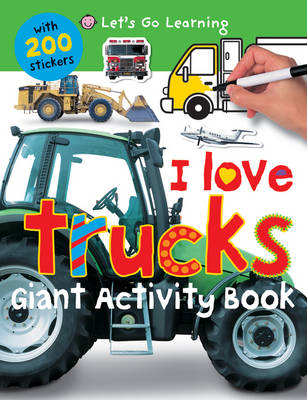 I Love Trucks by Roger Priddy