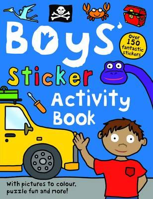 Boys' Sticker Activity by Roger Priddy