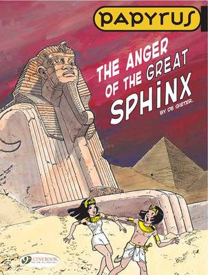 Papyrus Anger of the Great Sphinx by Lucien de Gieter