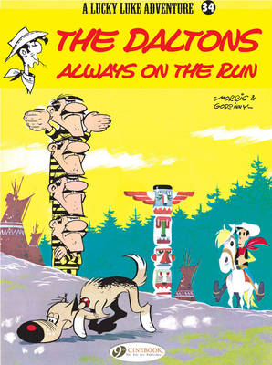 Lucky Luke Daltons Always on the Run by Goscinny