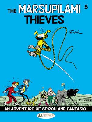 Spirou & Fantasio Marsupilami Thieves by Andre Franquin