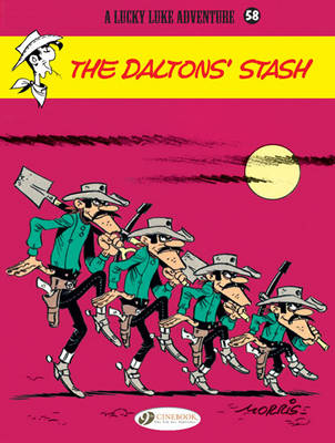 Lucky Luke The Daltons' Stash by Morris