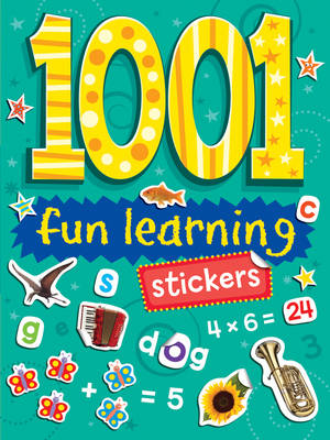 1001 Stickers Fun Learning by Duck Egg Blue