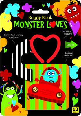 Monster Loves Buggy Book by Holly Brook-Piper