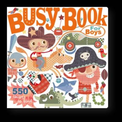 Busy Book For Boys by Holly Brook-Piper