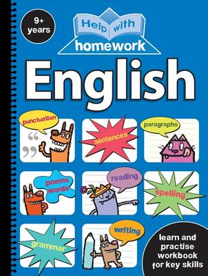 Help with Homework 9+ English Spiral by Nina Filipek