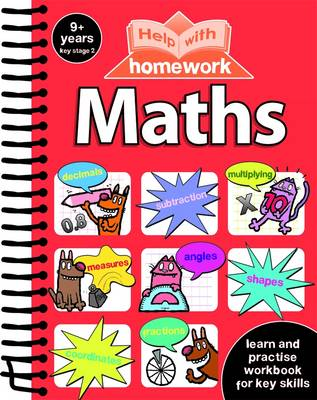 Help with Homework 9+ Maths Spiral by Nina Filipek