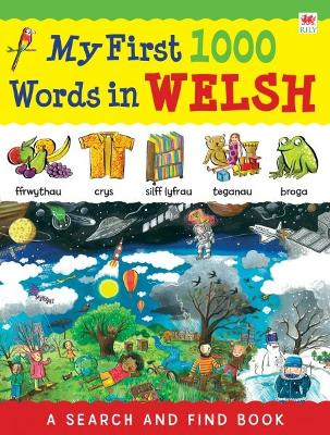 My First 1000 Words in Welsh by Catherine Bruzzone