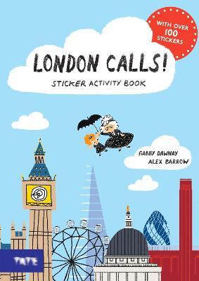London Calls! Sticker Activity Book by Gabby Dawnay