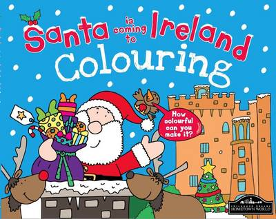 Santa is Coming to Ireland Colouring by