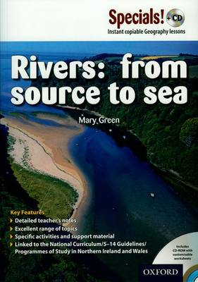 Secondary Specials! +CD: Geography Rivers: From Source to Sea by Mary Green