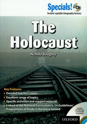 Secondary Specials! +CD: History - The Holocaust by Nichola Boughey