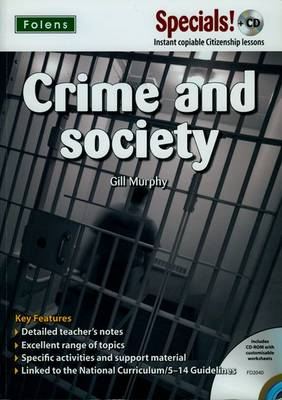 Secondary Specials! +CD: PSHE - Crime & Society by Gill Murphy