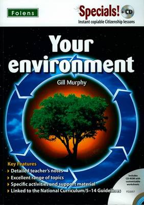 Secondary Specials! +CD: PSHE - Your Environment by Gill Murphy
