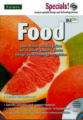 Secondary Specials! +CD: D&T - Food by Louise T. Davies, Janet Wilson, Roy Ballam