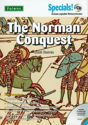 Secondary Specials! +CD: History - The Norman Conquest by Scott Reeves