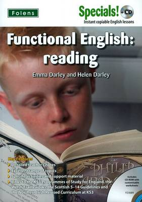 Secondary Specials! +CD: English - Functional English Reading by Helen Darley, Emma Darley