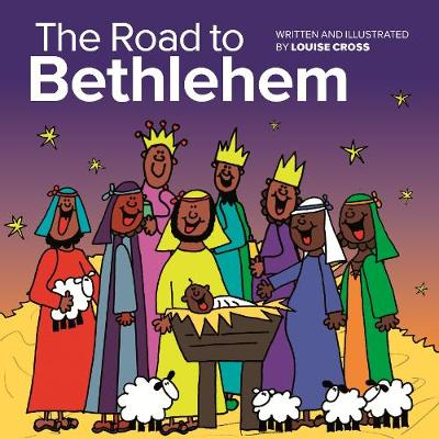 The Road to Bethlehem Mini Book by Louise Cross