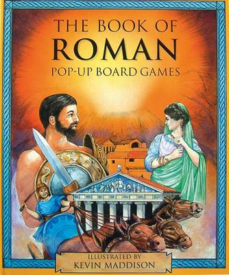 The Book of Roman Pop-up Board Games by Sadie Fields