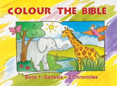 Colour the Bible Book 1 Genesis - 2 Chronicles by Carine MacKenzie